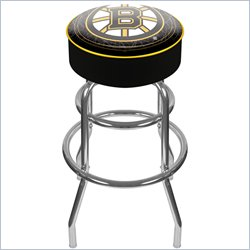 Trademark Retro NHL Boston Bruins Padded Bar Stool