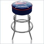 Trademark Retro NHL Columbus Blue Jackets Padded Bar Stool