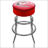 Trademark Retro NHL Carolina Hurricanes Padded Bar Stool