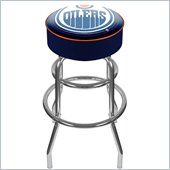 Trademark Retro NHL Edmonton Oilers Padded Bar Stool