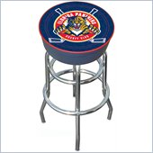 Trademark Retro NHL Florida Panthers Padded Bar Stool