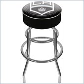 Trademark Retro NHL Los Angeles Kings Padded Bar Stool