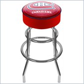 Trademark Retro NHL Montreal Canadians Padded Bar Stool