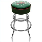 Trademark Retro NHL Minnesota Wild Padded Bar Stool