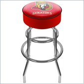 Trademark Retro NHL Ottawa Senators Padded Bar Stool