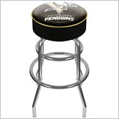 Trademark Retro NHL Pittsburgh Penguins Padded Bar Stool