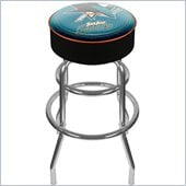 Trademark Retro NHL San Jose Sharks Padded Bar Stool