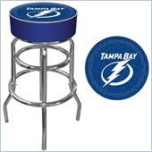 Trademark Retro NHL Tampa Bay Lightning Padded Bar Stool