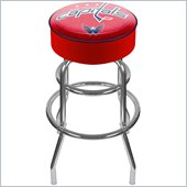 Trademark Retro NHL Washington Capitals Padded Bar Stool