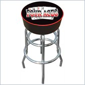 Trademark Four Aces Logo Padded Bar Stool