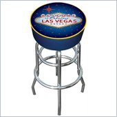 Trademark Retro Las Vegas Padded Bar Stool