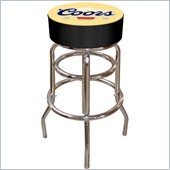 Trademark Retro Coors Banquet Padded Bar Stool