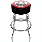Trademark Retro George Killians Irish Red Padded Bar Stool