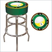 Trademark Retro 9-Ball Padded Bar Stool