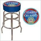 Trademark US Coast Guard Padded Bar Stool