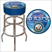 Trademark US Navy Padded Bar Stool