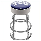 Trademark Retro Texas Christian University Padded Bar Stool