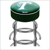 Trademark Retro Tulane University Padded Bar Stool