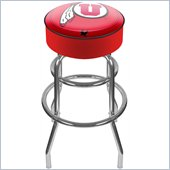 Trademark Retro University of Utah Padded Bar Stool