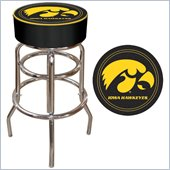 Trademark Retro University of Iowa Padded Bar Stool