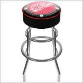 Trademark Retro NHL Vintage Detroit Redwings Padded Bar Stool