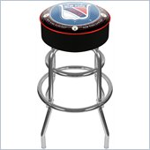 Trademark NHL Vintage New York Rangers Padded Bar Stool