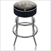 Trademark Retro Wake Forest University Padded Bar Stool