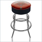 Trademark Retro Brown University Padded Bar Stool