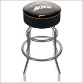 Trademark Retro Western Michigan University Padded Bar Stool
