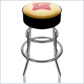 Trademark Retro Miller High Life Logo Padded Bar Stool
