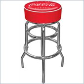 Trademark Retro Coca Cola Vintage Pub Stool