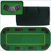 Trademark Global 80 Deluxe Texas Holdem Folding Poker Table Top