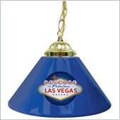 Trademark Welcome to Las Vegas 14 Inch Single Shade Bar Lamp