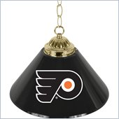 Trademark NHL Philadelphia Flyers 14 Inch Single Shade Bar Lamp