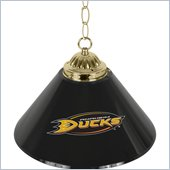 Trademark NHL Anaheim Ducks 14 Inch Single Shade Bar Lamp