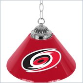 Trademark NHL Carolina Hurricanes 14 Inch Single Shade Bar Lamp