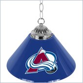 Trademark NHL Colorado Avalanche 14 Inch Single Shade Bar Lamp