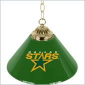 Trademark NHL Dallas Stars 14 Inch Single Shade Bar Lamp