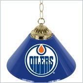 Trademark NHL Edmonton Oilers 14 Inch Single Shade Bar Lamp