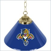 Trademark NHL Florida Panthers 14 Inch Single Shade Bar Lamp