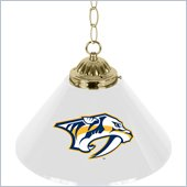 Trademark NHL Nashville Predators 14 Inch Single Shade Bar Lamp