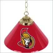Trademark NHL Ottawa Senators 14 Inch Single Shade Bar Lamp