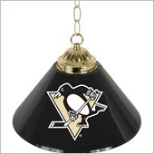 Trademark NHL Pittsburgh Penguins 14 Inch Single Shade Bar Lamp