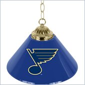 Trademark NHL St. Louis Blues 14 Inch Single Shade Bar Lamp