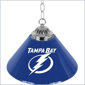 Trademark NHL Tampa Bay Lightning 14 Inch Single Shade Bar Lamp
