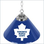 Trademark NHL Toronto Maple Leafs 14 Inch Single Shade Bar Lamp
