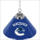 Trademark NHL Vancouver Canucks 14 Inch Single Shade Bar Lamp