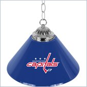 Trademark NHL Washington Capitals 14 Inch Single Shade Bar Lamp
