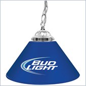Trademark Bud Light 14 Inch Single Shade Bar Lamp