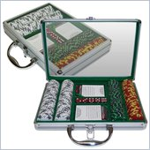 Trademark 200 14g Tri Color Ace/King Suited Chips in Clear Top Case